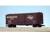 USA TRAINS 40 ft. Boxcar Milwaukee Road