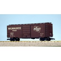 40 ft. Boxcar Milwaukee Road