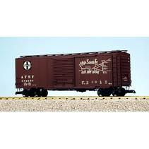 40 ft. Boxcar Santa Fe