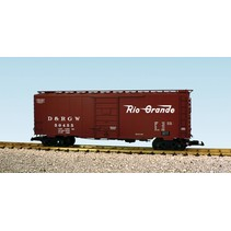 40 ft. Boxcar D & RGW