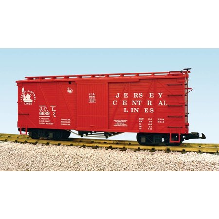 USA TRAINS Outside Braced Boxcar Jersey Central #66893