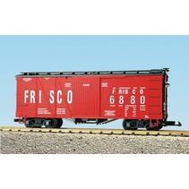 Outside Braced Boxcar Frisco #6882