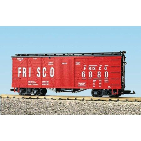 USA TRAINS Outside Braced Boxcar Frisco #6882