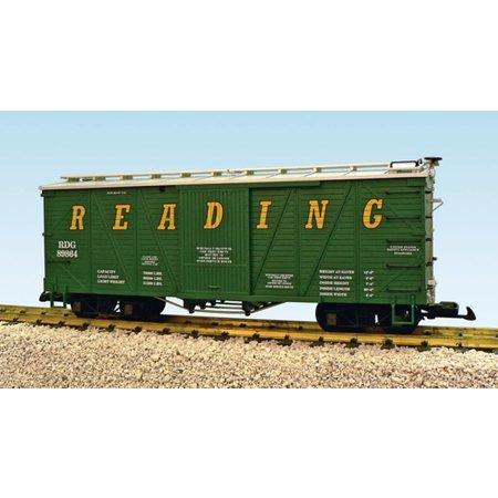 USA TRAINS Outside Braced Boxcar Reading #89864