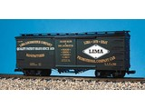 USA TRAINS Wood Box Car Lima Locomotive Co
