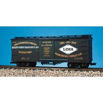 Wood Box Car Lima Locomotive Co #786