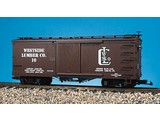 USA TRAINS Wood Box Car Westside Lumber Co.