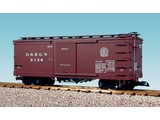 USA TRAINS Wood Box Car Denver & Rio Grande Western #3130