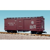 Wood Box Car Denver & Rio Grande Western #3130