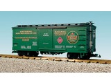 USA TRAINS Wood Box Car CN/REA #10572