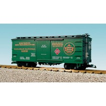 Wood Box Car CN/REA #10572
