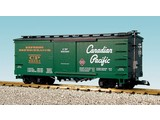 USA TRAINS Wood Box Car CP/REA #56397