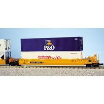 Intermodal Containerwagen 5er Einheit TTX (ohne Container)