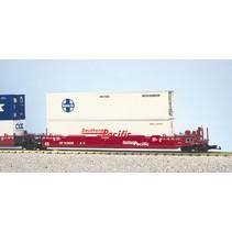 Intermodal Containerwagen 5er Einheit Southern Pacific (ohne Container)