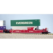 Intermodal Containerwagen 5er Einheit Canadian Pacific (ohne Container)