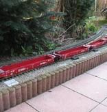 USA TRAINS Intermodal Containerwagen 5er Einheit Canadian Pacific (ohne Container)