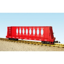 Center Beam Flat Car Great Northern (ohne Ladung)
