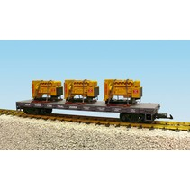 Generator Flat Car New York Central beladen mit 3 Motoren