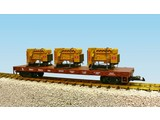 USA TRAINS Generator Flat Car Great Northern beladen mit 3 Motoren