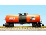 USA TRAINS 42 ft. Modern Tank Car Hooker Chemicals