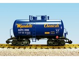 USA TRAINS Beer Can Tank Car Wyandotte Chemicals