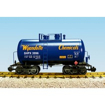 Beer Can Tank Car Wyandotte Chemicals
