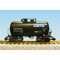 Beer Can Tank Car Canadian General Transport