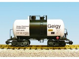 USA TRAINS Beer Can Tank Car Geigy Chemical Corp.