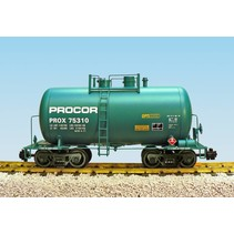 Beer Can Tank Car Procor