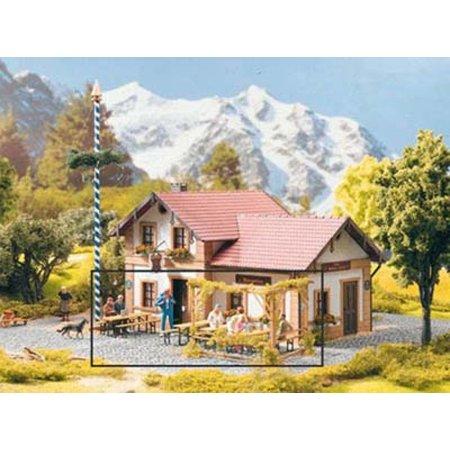 PIKO 3 Gartenbänke & 3 Biergarten-Garnituren