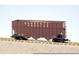 USA TRAINS Woodchip Car unbeschriftet
