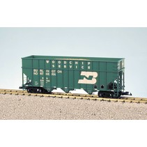 Woodchip Car Burlington Northern