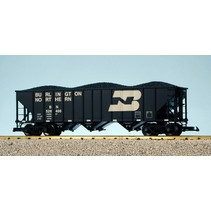 Coal Hopper Burlington Northern