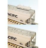 USA TRAINS 4 Bay Center Hopper Shell