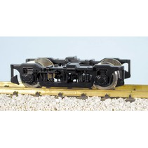 Die-Cast Passenger Car Truck mit Metal Wheels schwarz
