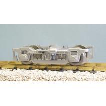 Die-Cast Passenger Car Truck mit Metal Wheels silber