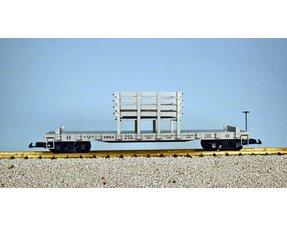 Gleis und Schwellen Transportwagen