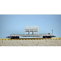 Santa Fe Rail and Tie Car