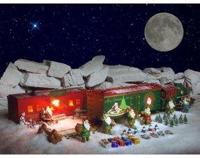 Weihnachtsfahrzeuge