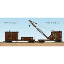 Colorado & Southern Kran-Schutzwagen