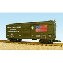 "US Army ""Enduring Freedom"" Box Car"