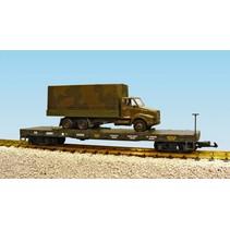 US Army Flatcar #G5058 mit Truck
