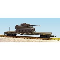 USMC Flatcar  mit Tiger Tank