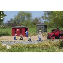 Gleisbau Hütten