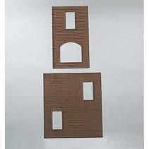US-Holzhaus-Wände