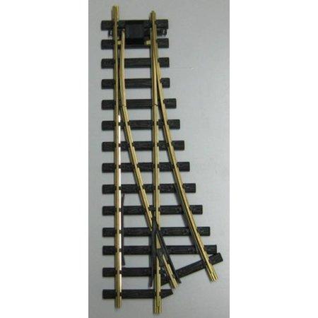 Train Line Elektro/DCC-Weiche links 90cm
