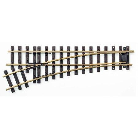 Train Line Elektro/DCC-Weiche links 120cm