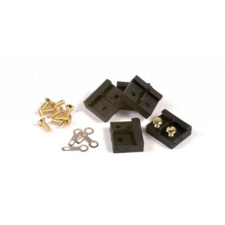 Massoth Isolierschienenverbinder mit Messingschrauben (50 Stück)