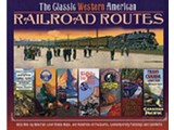 Chartwell Books The Classic Western American Railroad Routes