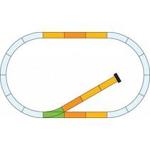 G-Gleis Ergänzungs-Set mit Prellbock